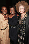 28 April 2011- New York,  NY-  l to r: Susan Taylor, Harriette Cole and Michaela Angela Davis at The Sparkling Celebration for the Birthday of Harriete Cole held at the Galapagos Art Space on April 27, 2011 in Brooklyn, NY Photo Credit: Terrence Jennings