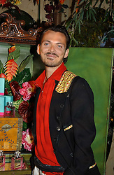 MATTHEW WILLIAMSON at a party to celebrate the launch of the new Matthew Williamson fragrance held at Harvey Nichols, Knightsbridge, London on 14th June 2005.<br />