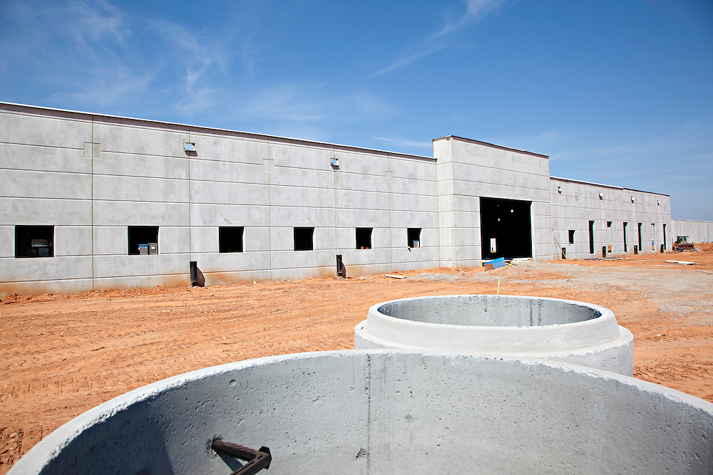 Client: Gray Construction<br /> Project: Caterpillar Manufacturing Plant in Athens, Georgia