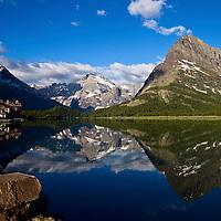 Many Glacier Hotel, Many Glacier National Park, Montana
