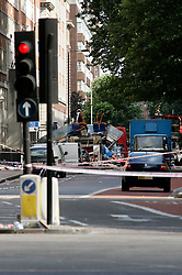 UK ENGLAND LONDON 7JUL05 - View of XXX in central London. At least two people have been killed and scores have been injured after at least seven blasts on the Underground network and a double-decker bus in London...jre/Photo by Jiri Rezac ..© Jiri Rezac 2005..Contact: +44 (0) 7050 110 417.Mobile:  +44 (0) 7801 337 683.Office:  +44 (0) 20 8968 9635..Email:   jiri@jirirezac.com.Web:    www.jirirezac.com..© All images Jiri Rezac 2005 - All rights reserved.