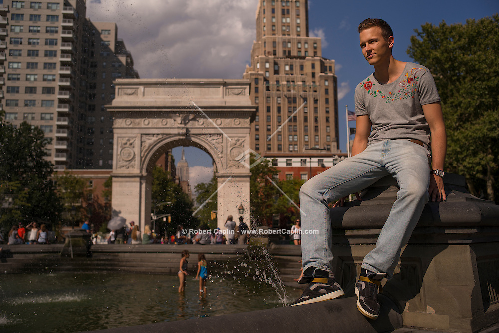NEW YORK, NY - August 07, 2014 - Jerome Jarre from Vine and Snapchat. <br /> Photo by Robert Caplin