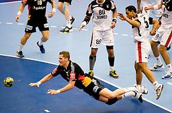 14.01.2011, FFS Arena, Lund, SWE, IHF Handball Weltmeisterschaft 2011, Herren, Deutschland (GER) vs Aegypten (EGY) im Bild, // Sebastian Preiss // during the IHF 2011 World Men's Handball Championship match Germany (GER) vs Egypt (EGY) at FFS Arena in Lund. . EXPA Pictures © 2011, PhotoCredit: EXPA/ nph/  Bildbyrån   76200       ****** out of GER / SWE / CRO ******