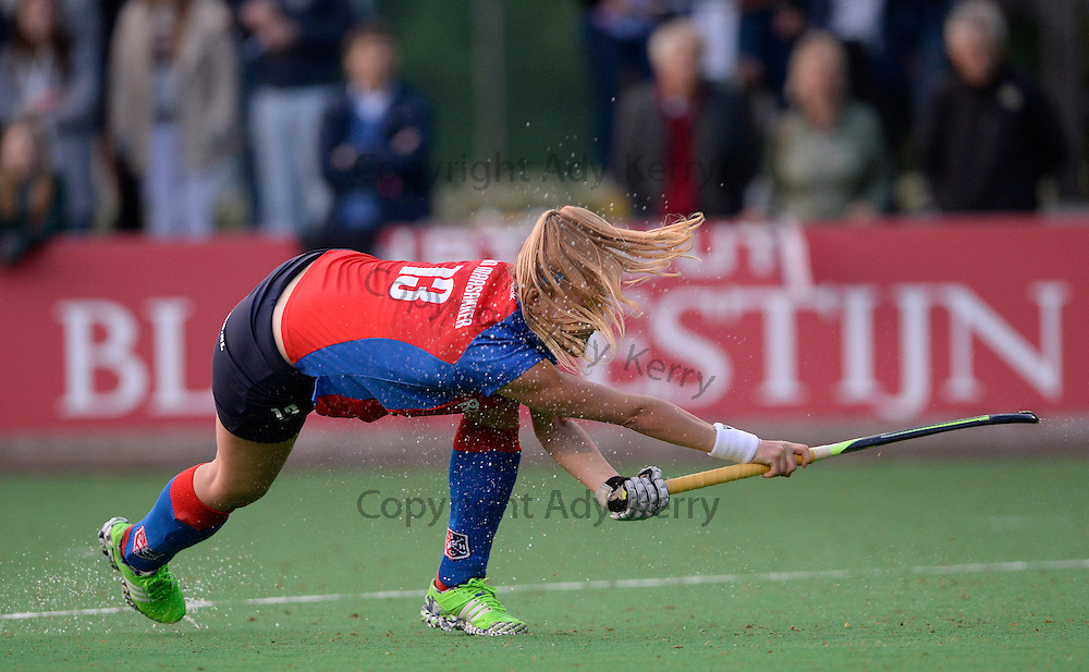 SCHC vs Canterbury at SCHC, 13th May 2016.<br />SCHC&rsquo;s Caia Maasskker scores from a penalty corner against Canterbury.