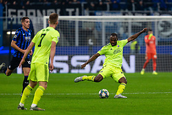 November 26, 2019, Milano, Italy: kevin theophile-catherine (gnk dinamo zagreb)during Tournament round - Atalanta vs Dinamo Zagreb , Soccer Champions League Men Championship in Milano, Italy, November 26 2019 - LPS/Francesco Scaccianoce (Credit Image: © Francesco Scaccianoce/LPS via ZUMA Wire)