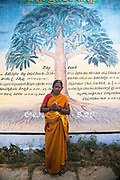 THIMMAMMA MARRIMANU, INDIA - 29th October 2019 - Portrait of a local to Thimmamma village in Andhra Pradesh, South India. Thimmamma Marrimanu is home to the world's largest single tree canopy.