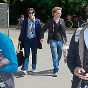 NLD/Amsterdam/20110608 - Boekpresentatie Bastiaan Ragas, Susan Visser en partner Dennis van der Ven