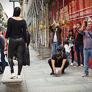 Torino - Sotto la Mole, quando i turisti fanno clic