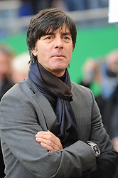 14.10.2009, HSH Nordbank Arena, Hamburg, GER, WM Qualifikation, Deutschland GER vs Finnland FIN , im Bild Einzelportrait Trainer Joachim Loew (Löw GER), EXPA Pictures © 2009 for Austria, Italy and United Kingdom only, Photographer EXPA / NPH / Kokenge