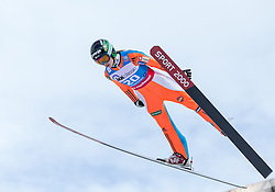 30.01.2016, Normal Hill Indiviual, Oberstdorf, GER, FIS Weltcup Ski Sprung Ladis, Bewerb, im Bild Ursa Bogataj (SLO) // Ursa Bogataj of Slovenia during her Competition Jump of FIS Ski Jumping World Cup Ladis at the Normal Hill Indiviual, Oberstdorf, Germany on 2016/01/30. EXPA Pictures © 2016, PhotoCredit: EXPA/ Peter Rinderer