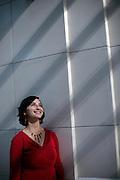 08272009 - Rebecca Saldana, '99 graduate Theology and Humanities. 3yrs with congressman Jim McDermott's office.