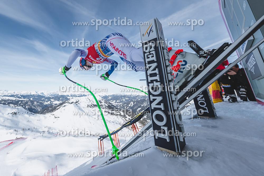 09.01.2020, Keelberloch Rennstrecke, Altenmark, AUT, FIS Weltcup Ski Alpin, Abfahrt, Damen, 1. Training, im Bild Wendy Holdener (SUI) // Wendy Holdener of Switzerland in action during her 1st training run for the women's Downhill of FIS ski alpine world cup at the Keelberloch Rennstrecke in Altenmark, Austria on 2020/01/09. EXPA Pictures © 2020, PhotoCredit: EXPA/ Johann Groder