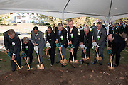 18414Academic & Research Center Groundbreaking September 29, 2007...Groundbreaking.Shot 1:  Chuck and Marilyn Stuckey, Mrs. McDavis, McDavis, Rick Vincent, Brose,Irwin, DeLawder, Lipman