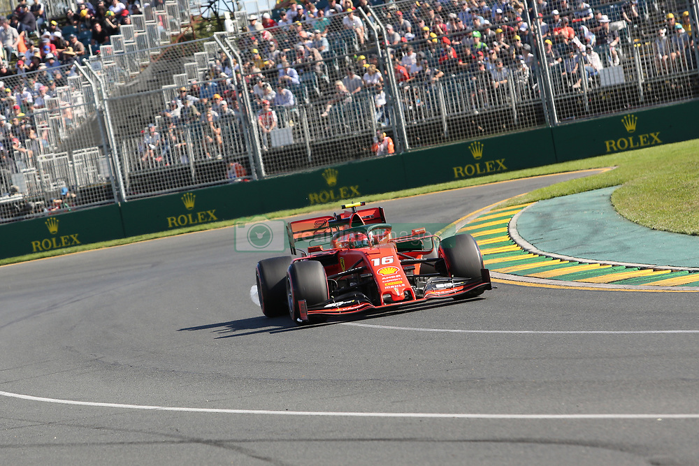 March 15, 2019 - CHARLES LECLERC during Friday Practice at the Australian Formula 1 Grand Prix in Melbourne on March 15, 2019  (Credit Image: © Christopher Khoury/Australian Press Agency via ZUMA  Wire)