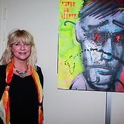 NLD/Amsterdam/20130404- Presentatie kledinglijn Rock & Roll Junkie van Lola Brood, Manuela Kemp