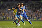 Brighton striker (on loan from Manchester United), James Wilson (21) during the Sky Bet Championship play-off second leg match between Brighton and Hove Albion and Sheffield Wednesday at the American Express Community Stadium, Brighton and Hove, England on 16 May 2016.