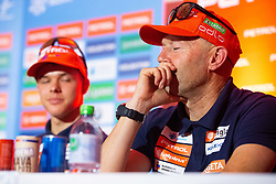 Uros Velepec during press conference of Slovenian Nordic Ski Cross country team before new season 2019/20, on Novamber 12, 2019, in Petrol, Ljubljana, Slovenia. Photo Grega Valancic / Sportida