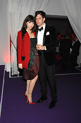 MARK RONSON and DAISY LOWE at the 2008 Glamour Women of the Year Awards 2008 held in the Berkeley Square Gardens, London on 3rd June 2008.<br />