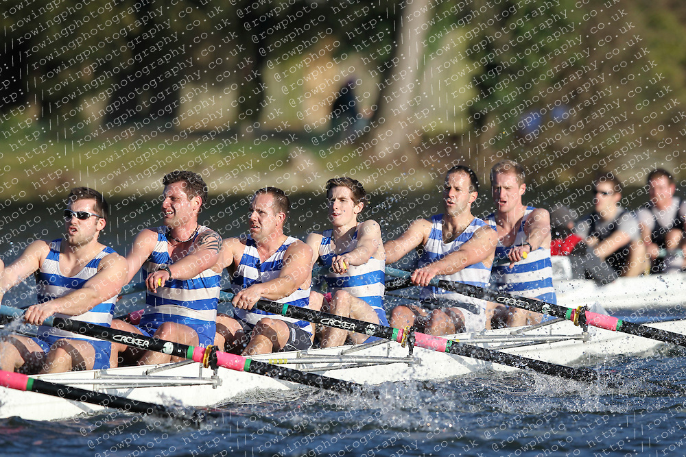 2012.02.25 Reading University Head 2012. The River Thames. Division 2. Itchen Imperial Rowing Club IM2 8+