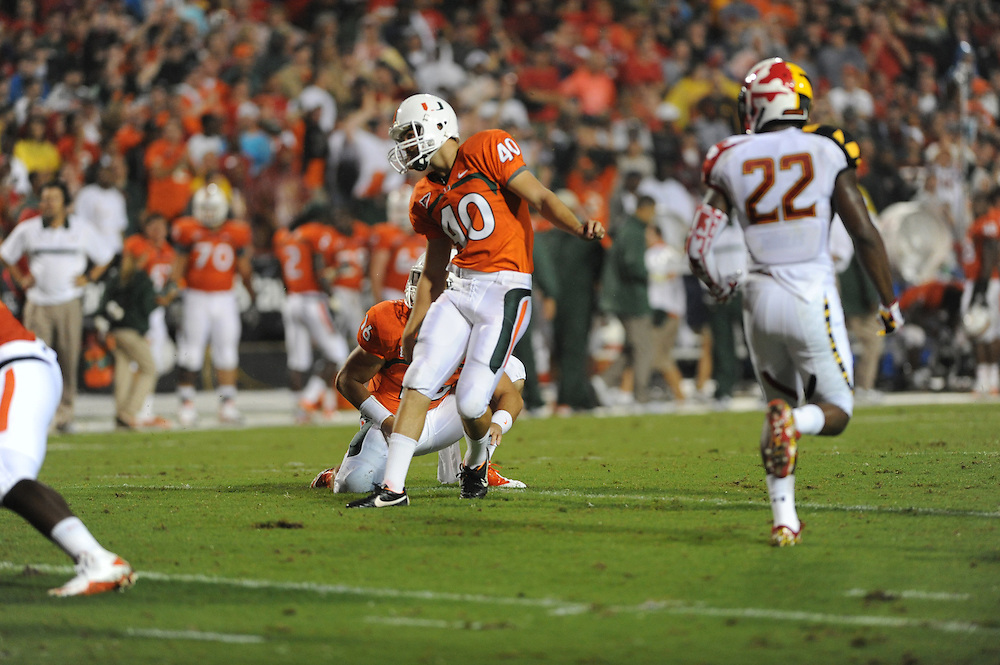 2011 Miami Hurricanes Football @ Maryland<br /> <br /> Jake Wieclaw
