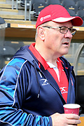 Hull Kingston Rovers Head Coach Tim Sheens arrives for the Betfred Super League match between Hull FC and Hull Kingston Rovers at Kingston Communications Stadium, Hull, United Kingdom on 19 April 2019.