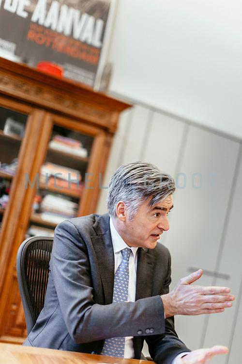 Adriaan Visser, Havenwethouder in Rotterdam. 14-03-2018 Foto: Michel de Groot