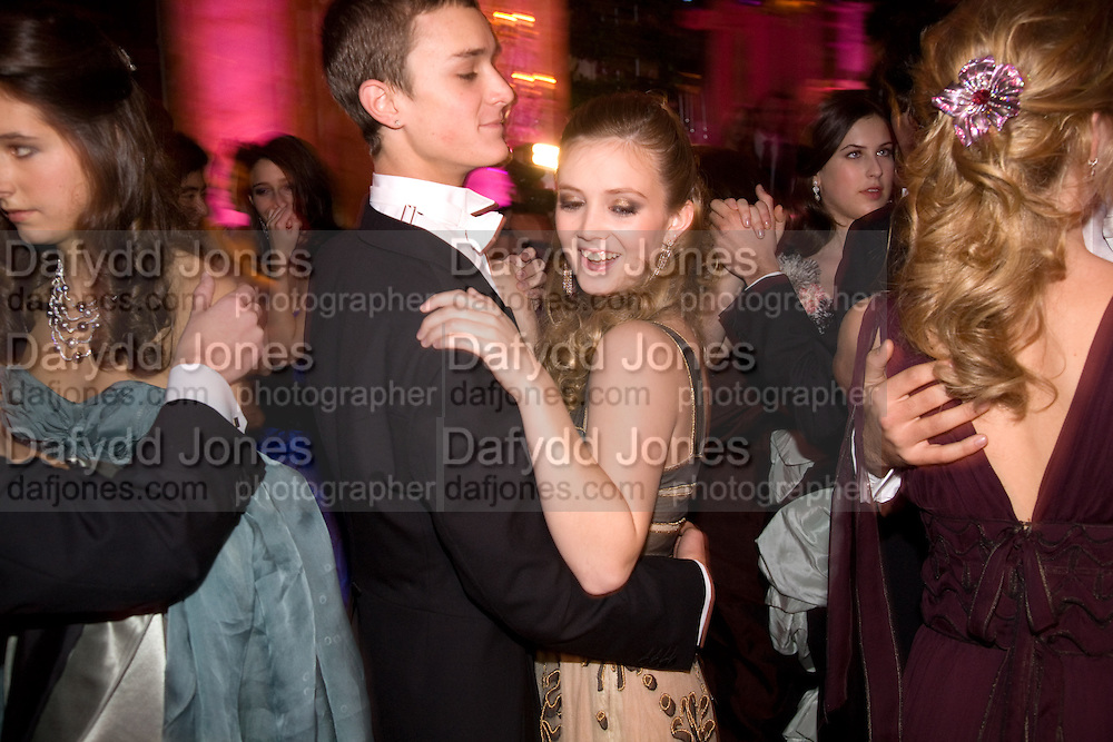 BILLIE LOURD; ADAM STEWART MALTZ. The 2008 Crillon Debutante Ball, Crillon Hotel. Paris. 29 November 2008 *** Local Caption *** -DO NOT ARCHIVE -Copyright Photograph by Dafydd Jones. 248 Clapham Rd. London SW9 0PZ. Tel 0207 820 0771. www.dafjones.com
