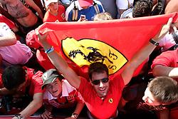 Motorsports / Formula 1: World Championship 2010, GP of Italy, fan of Scuderia Ferrari Marlboro