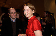 Alain and Charlotte de Botton. Book party for LAST VOYAGE OF THE VALENTINA by Santa Montefiore (Hodder & Stoughton) Asprey,  New Bond St. 12 April 2005. ONE TIME USE ONLY - DO NOT ARCHIVE  © Copyright Photograph by Dafydd Jones 66 Stockwell Park Rd. London SW9 0DA Tel 020 7733 0108 www.dafjones.com