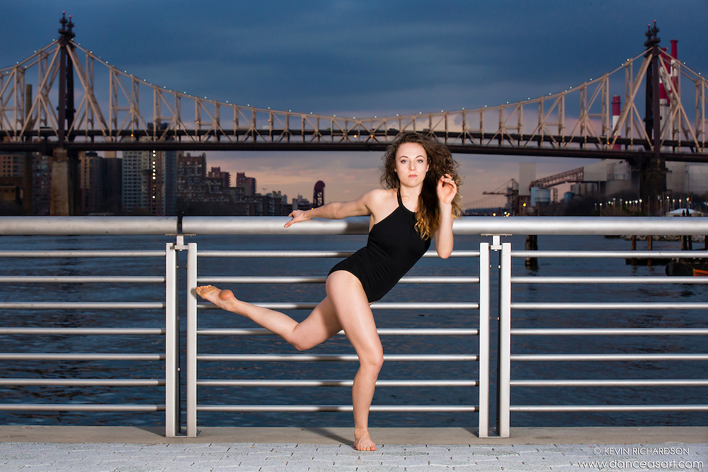 New York City Dance Photography- Dance As Art Gantry State Park with dancer, Manon Hallay