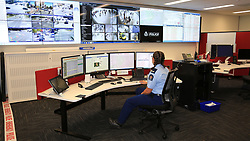 A look inside the new police operations room as the Police held a open day in the new Justice precinct, Christchurch, New Zealand, Sunday March 11, 2018. Credit:SNPA / Hayden Woodward**NO ARCHIVING**
