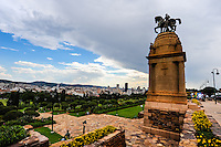 Pretoria is one of the three capital cities in South Africa. View from the Union Buildings, home of the South African government and also the President of South Africa.