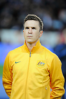 Australia's Matt McKay before the International football Friendly Game 2013/2014 between France and Australia on October 11, 2013 in Paris, France. Photo Jean Marie Hervio / Regamedia/ DPPI