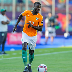 during the 2019 Africa Cup of Nations Finals game between Ivory Coast and South Africa at Al Salam Stadium in Cairo, Egypt on 24 June 2019  <br /> Photo : Icon Sport