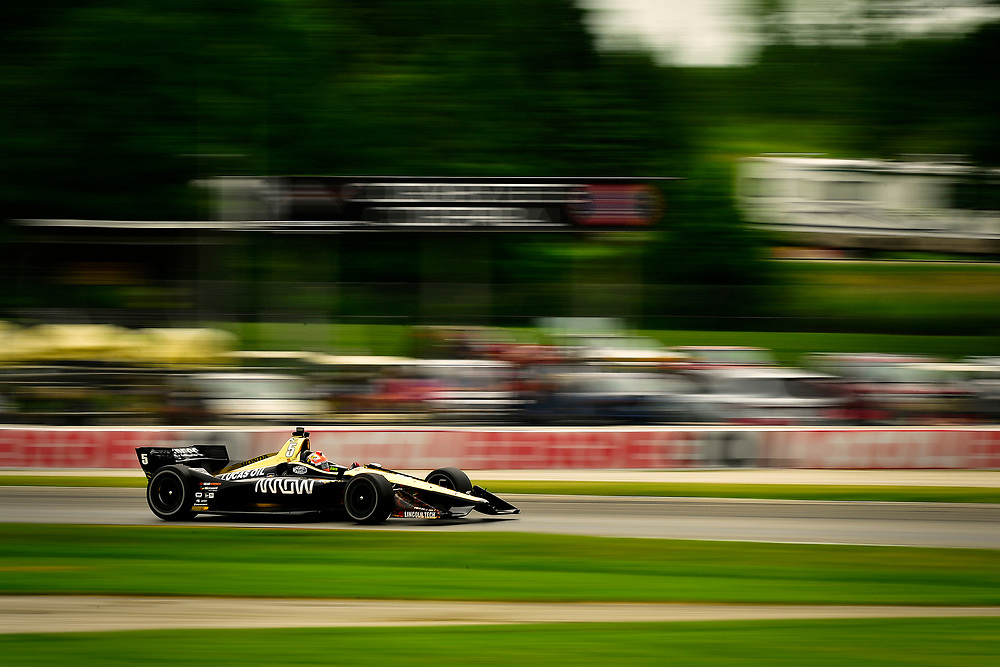 James Hinchcliffe, Schmidt Peterson Motorsports Honda<br /> Friday 22 June 2018<br /> KOHLER Grand Prix at Road America<br /> Verizon IndyCar Series<br /> Road America WI USA<br /> World Copyright: Scott R LePage
