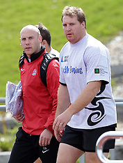 Auckland-Rugby, RWC, England training