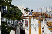 Tiradentes_MG, Brasil...Decoracao de carnaval em Tiradentes...The carnival decoration in Tiradentes...Foto: LEO DRUMOND /  NITRO