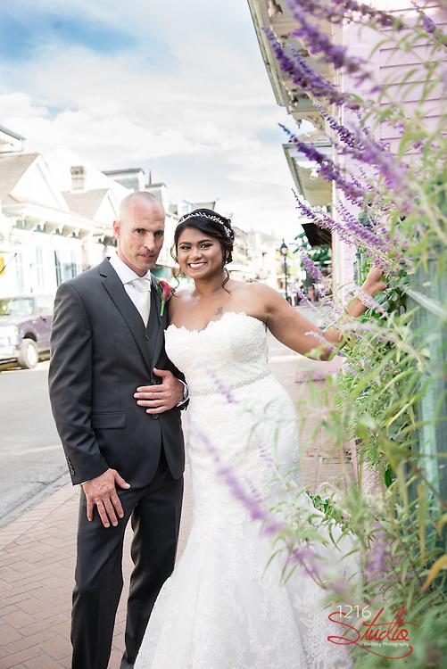Dan & Sharlene Wedding Album Samples | 530 Bourbon | 1216 Studio Wedding Photography