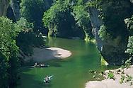 France, Languedoc Roussillon, Lozère, Cévennes, Gorges du Tarn, les Détroits