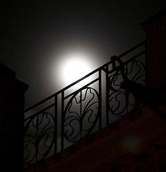 Moon over Governador Moncada