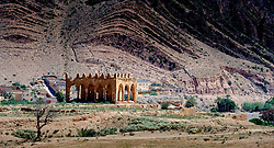 Ruins of a Kasbah near Taliouine, a little mountain village in the south of Morocco<br /> <br /> (c) Andrew Wilson   Edinburgh Elite media