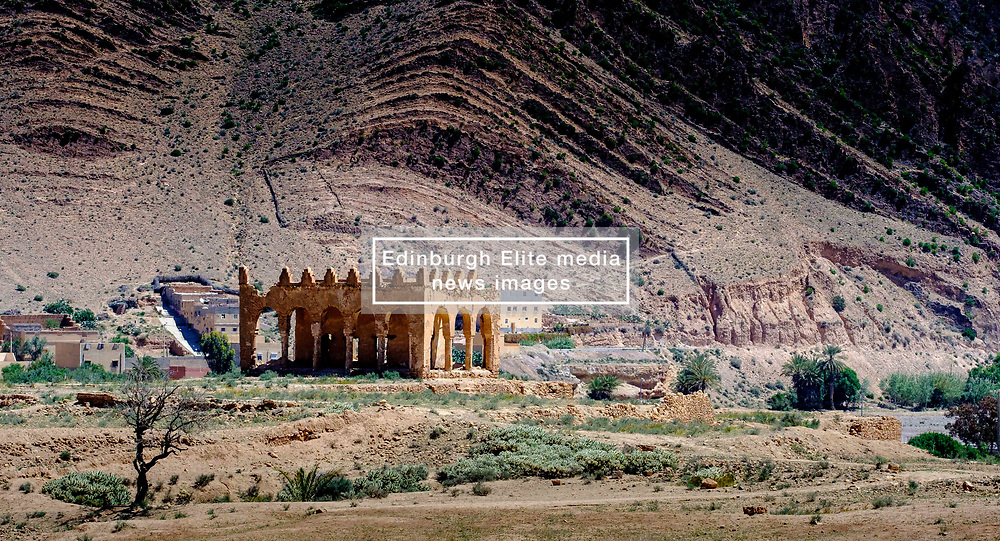 Ruins of a Kasbah near Taliouine, a little mountain village in the south of Morocco<br /> <br /> (c) Andrew Wilson | Edinburgh Elite media