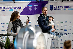 OATLEY Lyndal , KITTEL Patrik (SWE), OATLEY KITTEL Emilia<br /> Göteborg - Gothenburg Horse Show 2019 <br /> FEI Dressage World Cup™ Final I<br /> Int. dressage competition - Grand Prix de Dressage<br /> Longines FEI Jumping World Cup™ Final and FEI Dressage World Cup™ Final<br /> 05. April 2019<br /> © www.sportfotos-lafrentz.de/Stefan Lafrentz