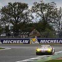 #91, Porsche Motorsport, Porsche 911 RSR (2017), driven by Richard Lietz, Frederic Makowiecki, FIA WEC 2017 6 Hours of Silverstone, Silverstone International Circuit, 14/04/2017,