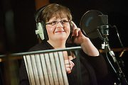 Rosemary Gosden, a midwife and member of the RCM.  The TUC organised a recording session at Metropolis studios of the Canned Heat classic 'Lets work together'. Union members from all over the UK came together to sing. The song will be released the week before the biggest strike action in years on the 30th of November 2011.