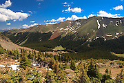 Wheeler Peak, the highest point in New Mexico.