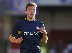 Southampton's Sam McQueen - Photo mandatory by-line: Joe Meredith/JMP - Mobile: 07966 386802 21/07/2014 - SPORT - FOOTBALL - Swindon - County Ground - Swindon Town v Southampton