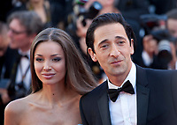 Lara Lieto and Adrien Brody at the opening ceremony and Ismael's Ghosts (Les Fantômes D'ismaël) gala screening,  at the 70th Cannes Film Festival Wednesday May 17th 2017, Cannes, France. Photo credit: Doreen Kennedy