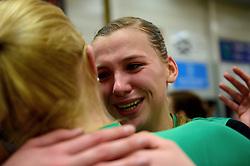 12-04-2014 NED: Finale vv Alterno - Sliedrecht Sport, Apeldoorn<br /> Alterno pakt het kampioenschap door Sliedrecht voor de derde maal te verslaan / Kathy Bonsen
