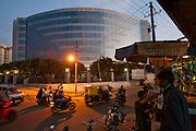 Prestige Lexington Towers, which house the offices of U.S. software giant Oracle Corporation in Bangalore, India.